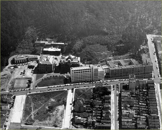 Photo a history of ucsf for Moffitt builders
